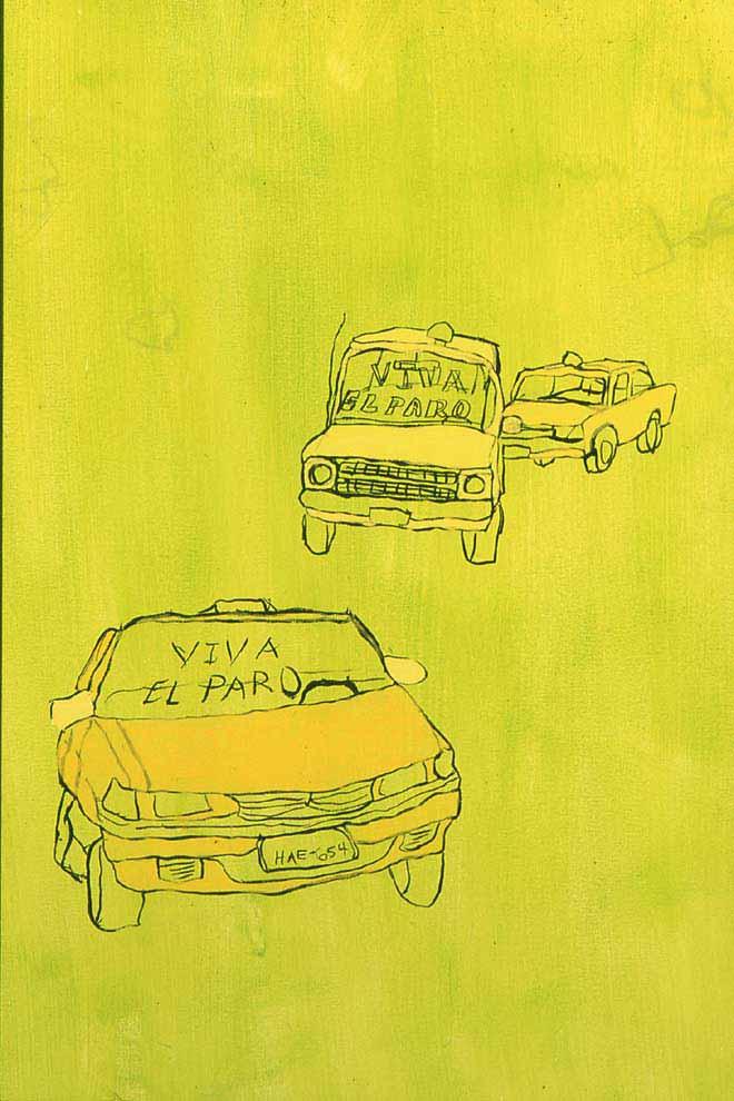 recuerdos en el paisaje (detail), 2003