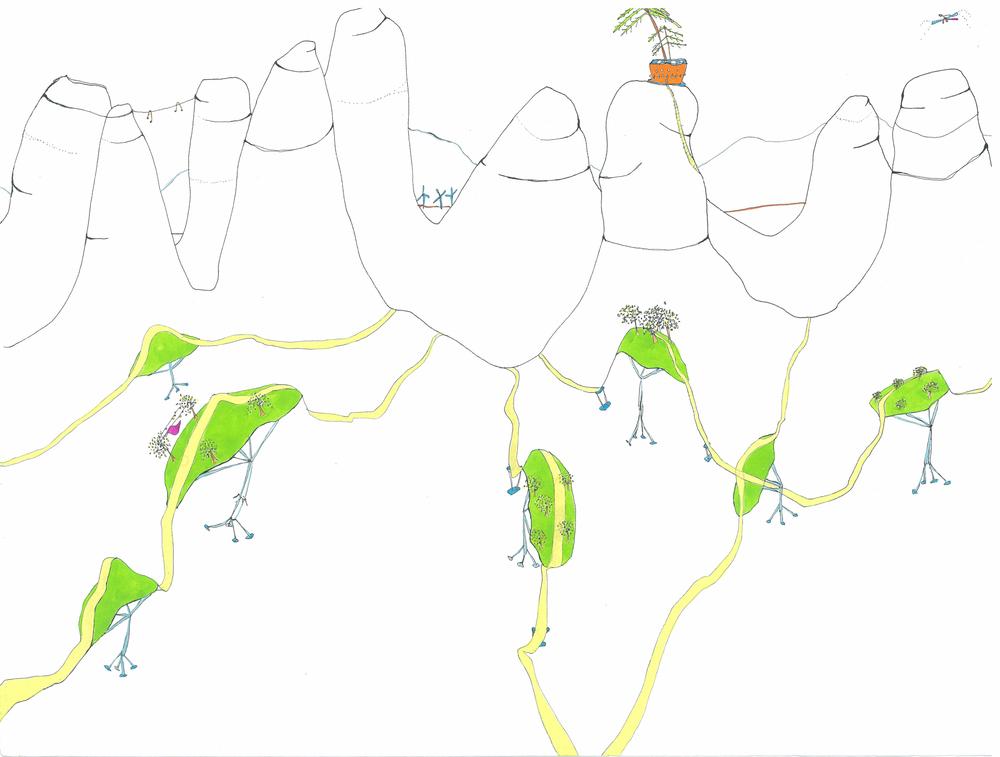 arbolitos caminando, 2007