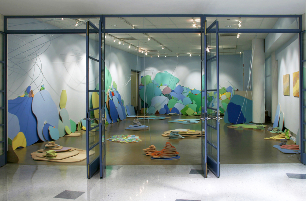 waterbreaths [installation shot], 2007