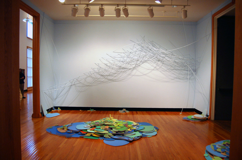 land and wind, 2008