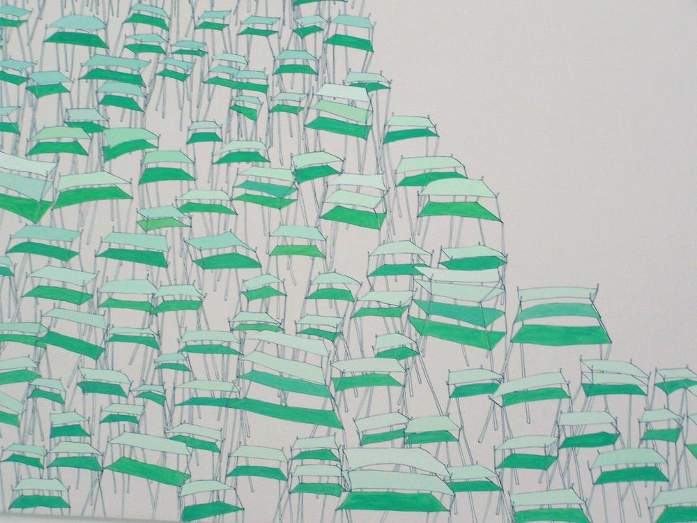 terremoto (detail), 2005