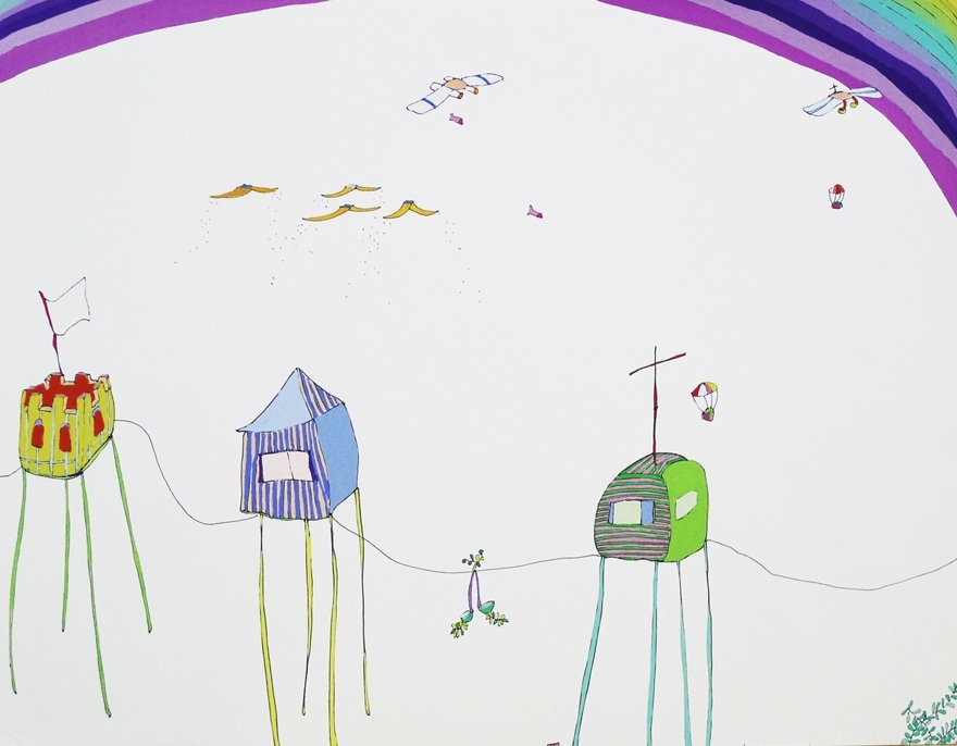 casitas en el aire, 2006