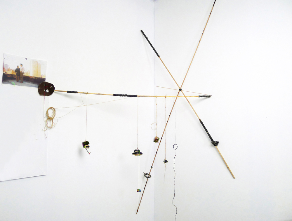 portal de lana y madera, 2014