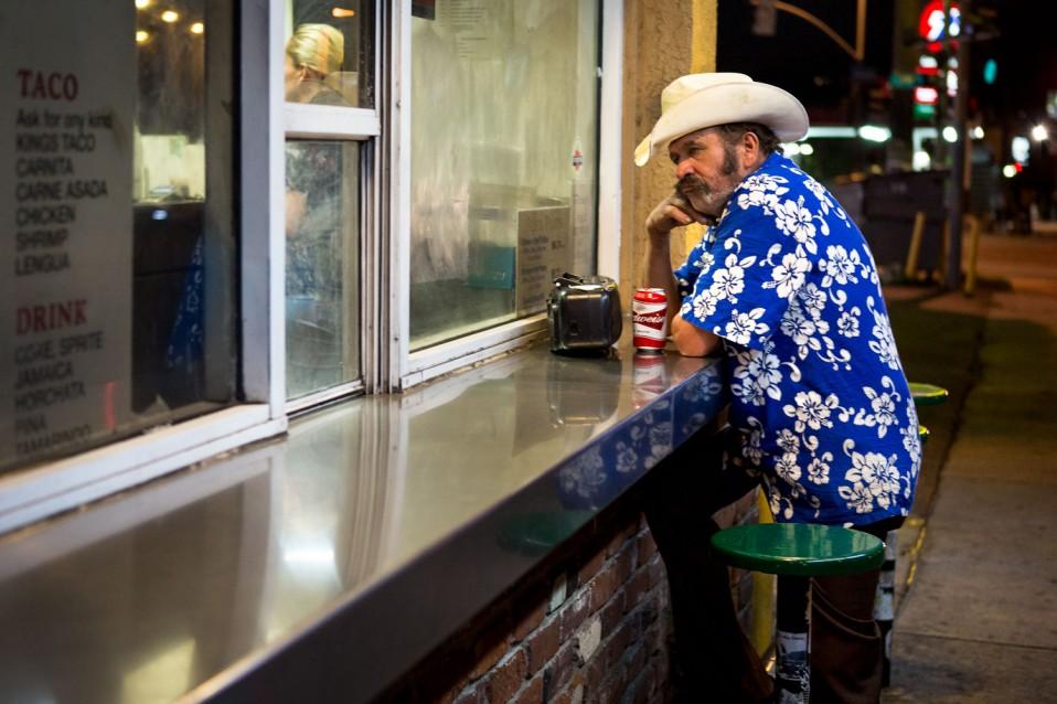Burrito King on Alvarado street
