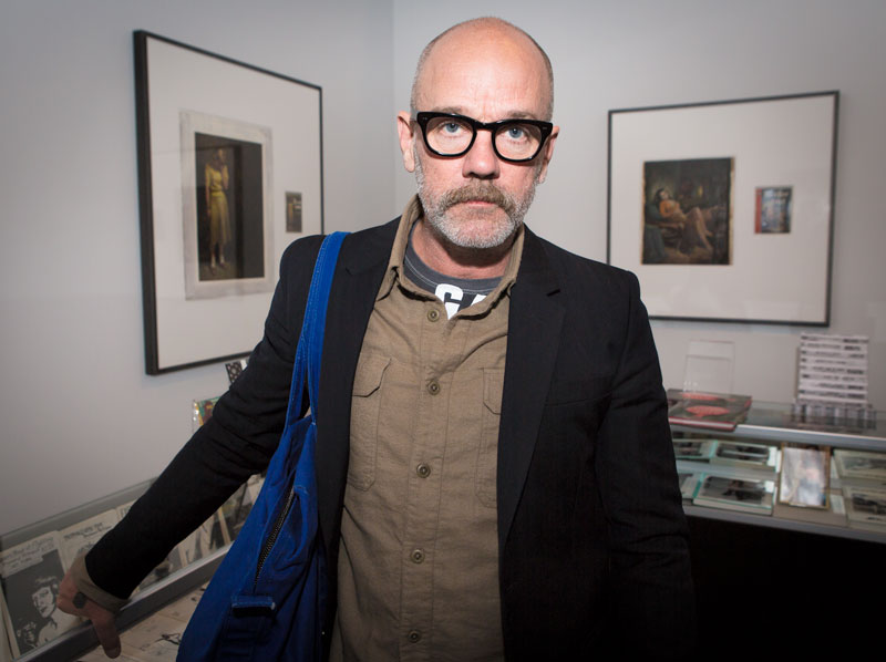 Michael Stipe at the LA Art Book Fair