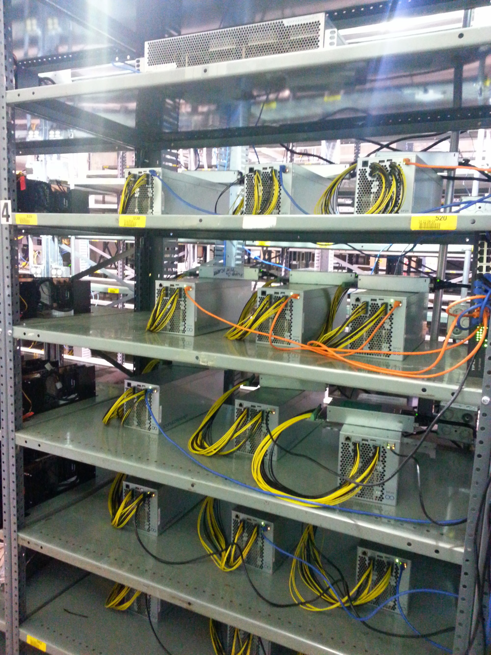 15 sp20s on shelf mining at asicspace facility