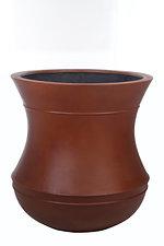 mecan GRC Pot     Rust wet Colour