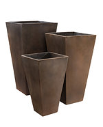 tapered square GRC Planters