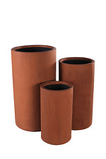 tall cylinder GRC Planters