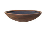 Example of a classic wok     in iron ore colour