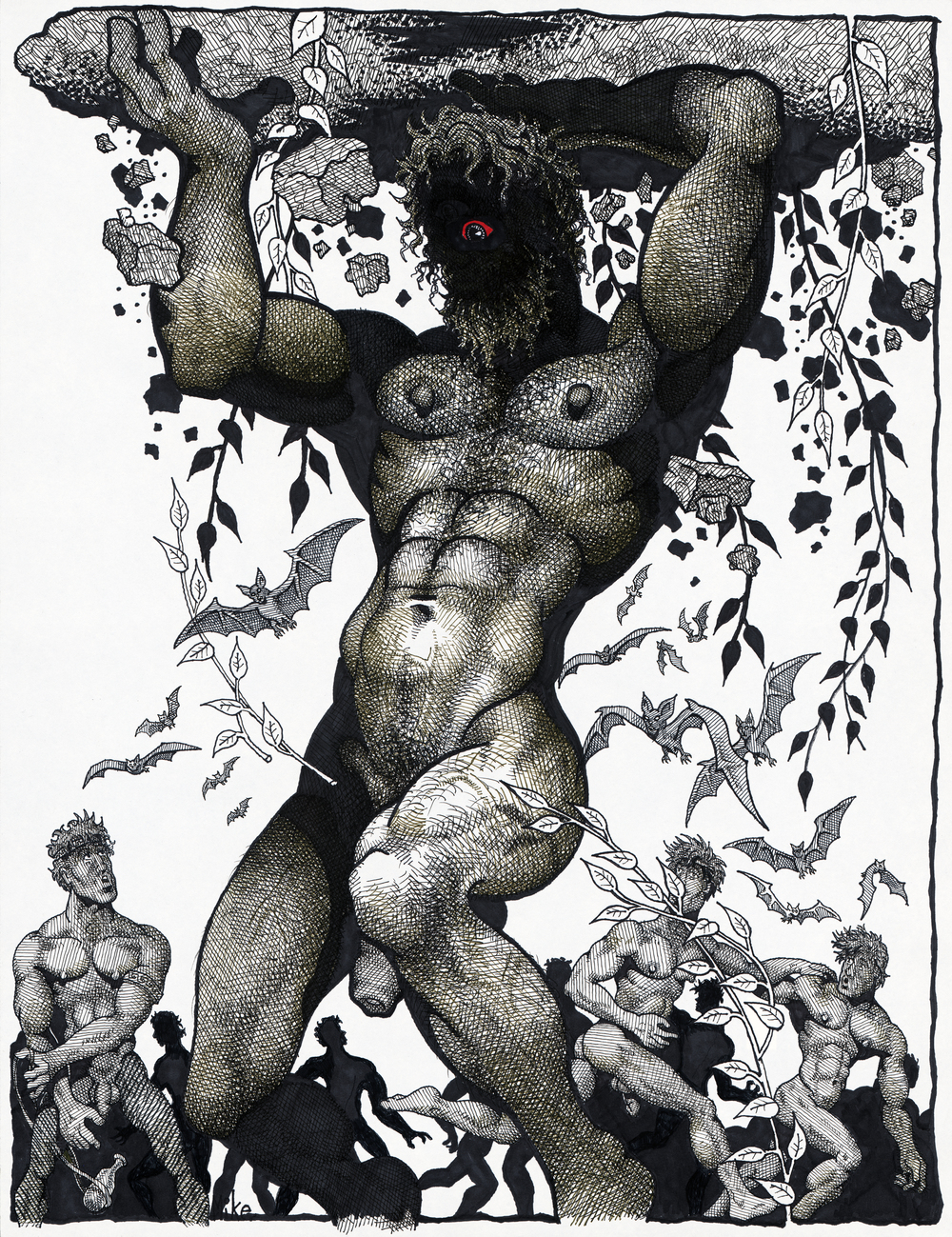 Mike Kuchar,  Myth Men , 1980-1990; Courtesy of the artist; © Mike Kuchar