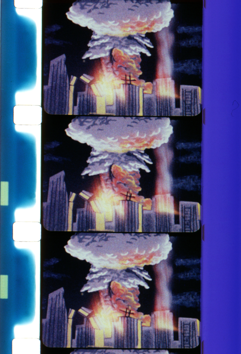 Night of the Bomb (1962, 8mm, Color, Sound, 18min.); © Estate of George Kuchar;© Mike Kuchar.
