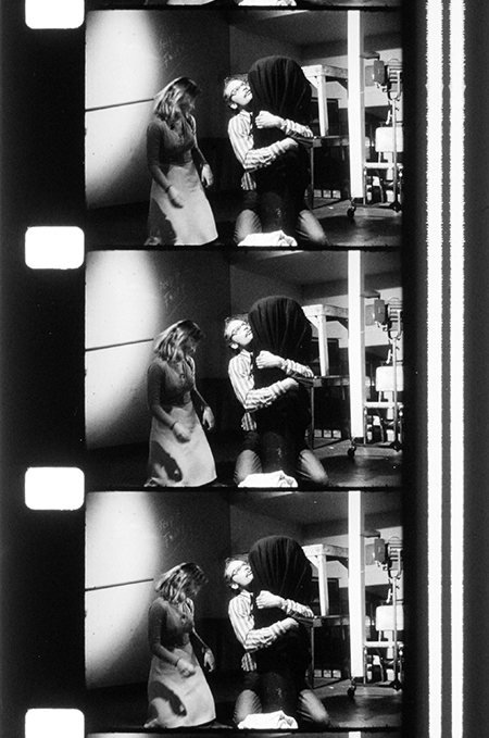I, An Actress  (Class Production: 1977, 16mm, B&W, Sound, 9min.); © Estate of George Kuchar.