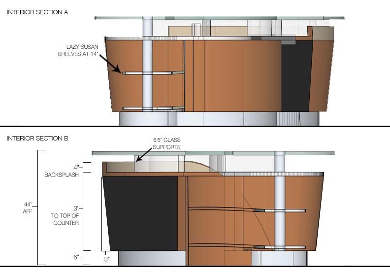 Bar Top Width 28 Images Granite Overhang Limits For