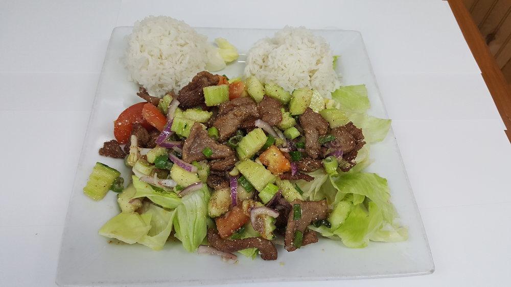 #12 Thai Beef Salad