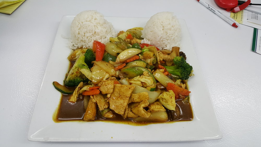 #31 Curry Powder Power Stir-Fried