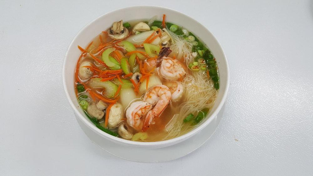 #40 Smallest Rice Noodle Soup