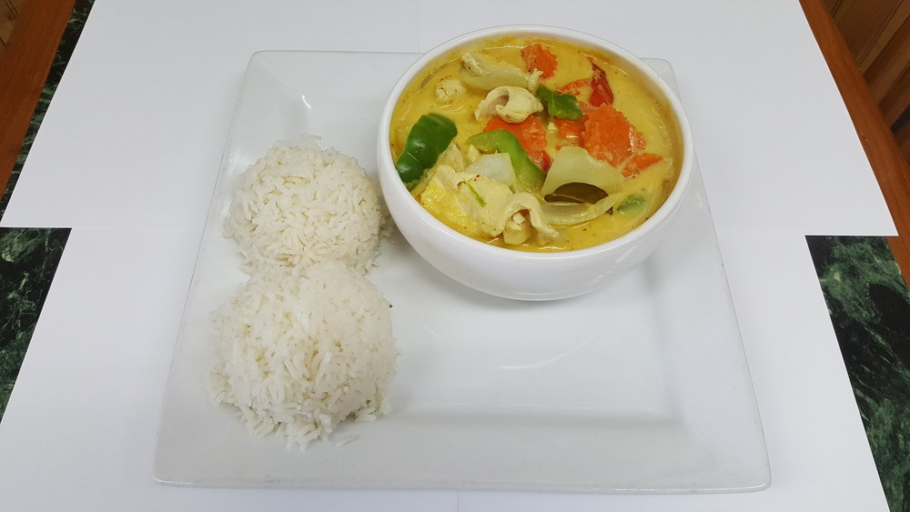 # 13 Yellow Curry