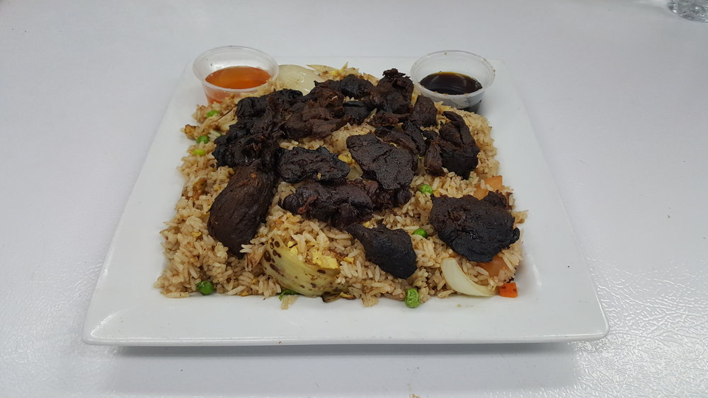 #32 Beef Jerky Fried Rice