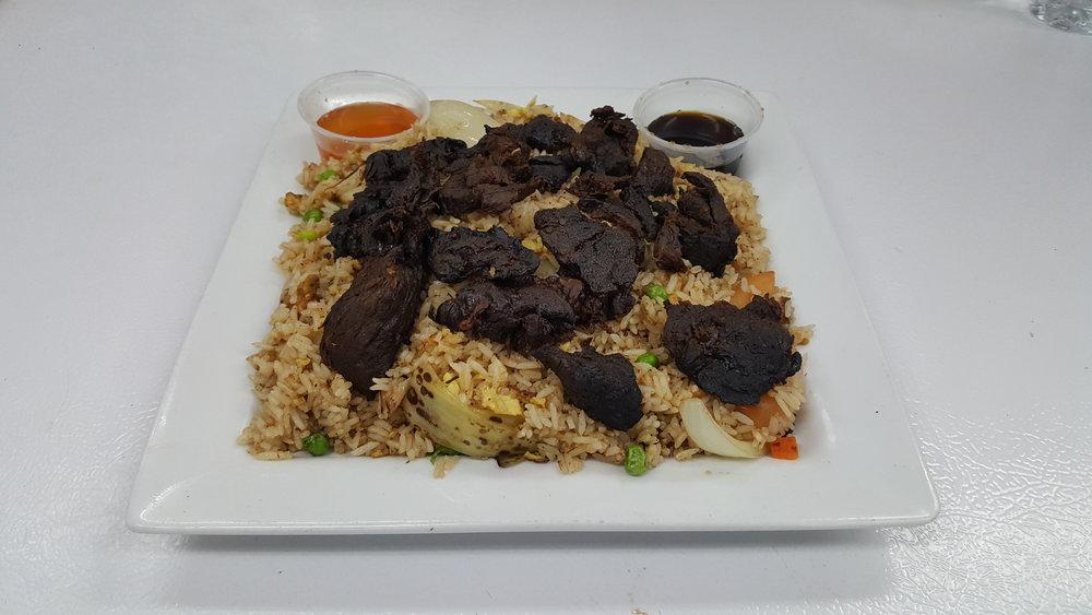#32 Beef Jerky Fried Rice
