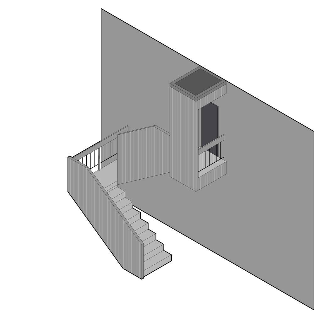 West Cambridge Stair Renovation
