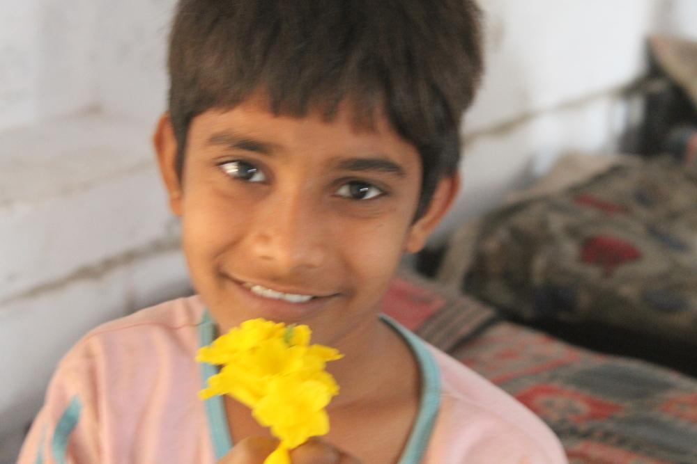 Kiran, 13 years old