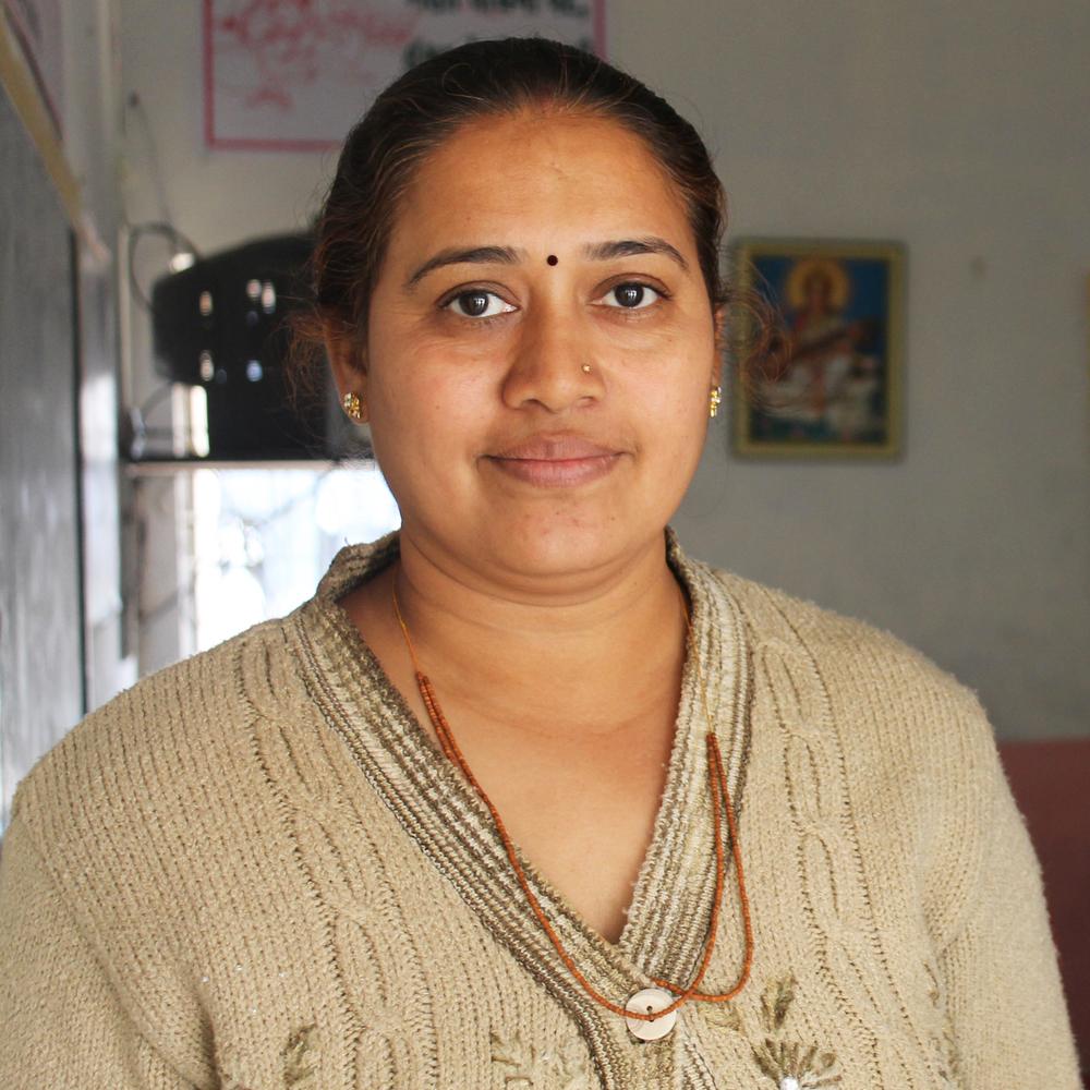 Meenakshiben Patel - Teacher