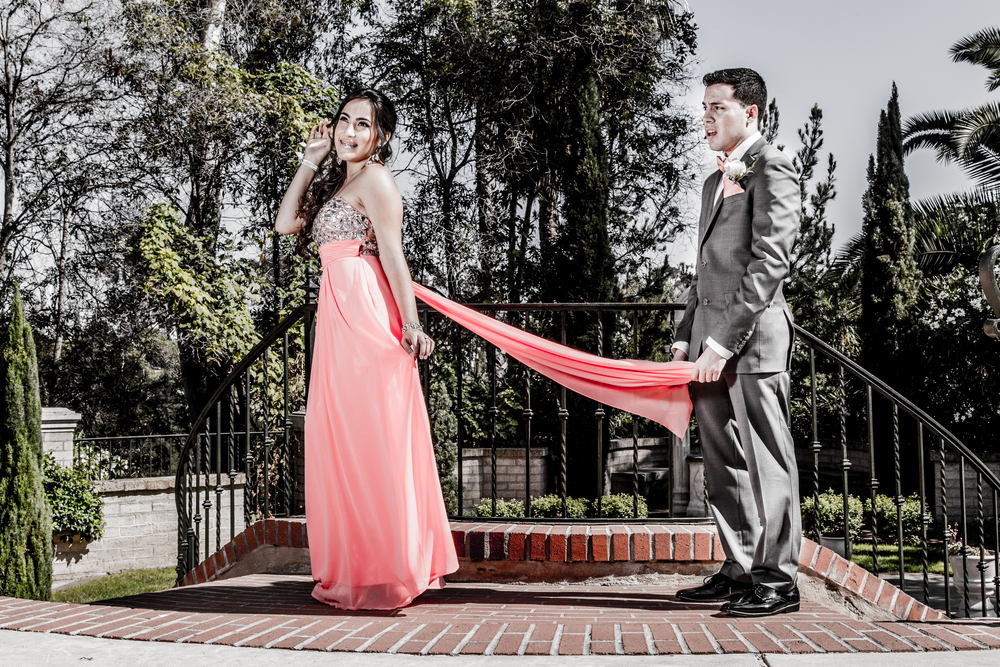 Diana & Marco | CVHS Prom 2014