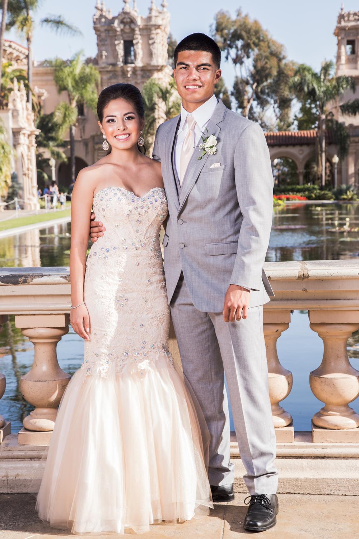 Briana & Lando | CVHS Prom 2014