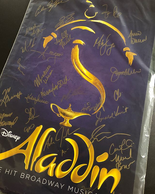 Aladdin // 03.10 // Such a great show! Saw this show on broadway in New York in 2015 and again in LA tonight with @adamjacobsnyc playing Aladdin! Got to also see the original Genie from the Australia cast,@iammjscott ! @aladdin @aladdin_tour @disney @disneyd23 @disneytheatricals_  Y'all definitely need to see this show before it leaves at the end of the month  #broadway #losangeles #pantagestheatre #hollywood #aladdinmusical #aladdin #aladdinbroadway #genie #broadwaycares