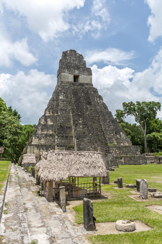Tikal tempelet i Guatemala