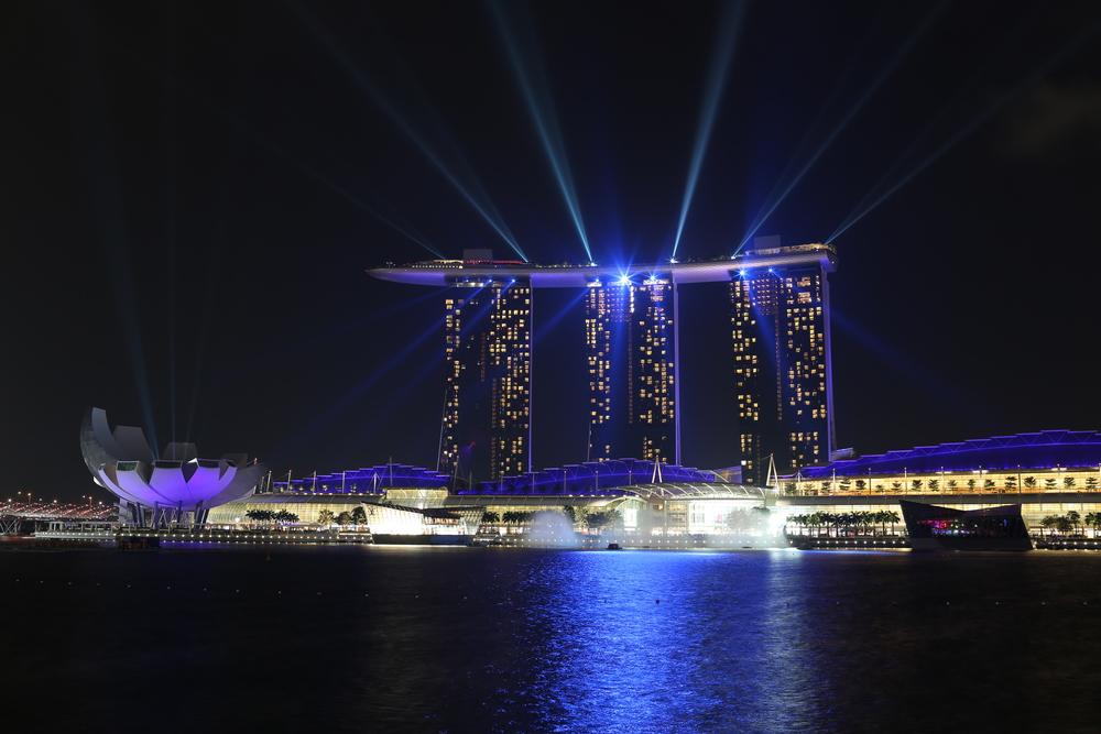 Marine Bay Sands hotellet i Singapore