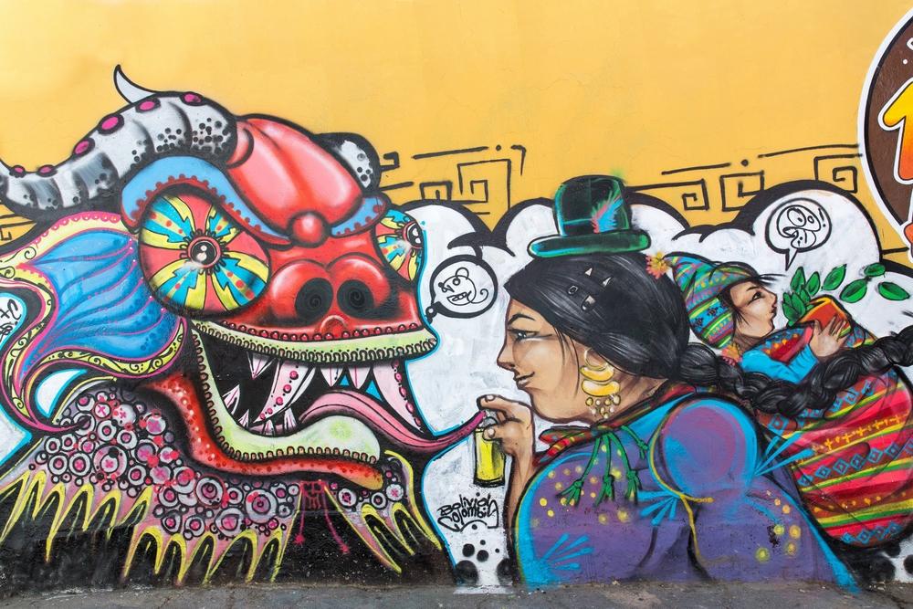 Gatemaleri iLa Paz, Bolivia