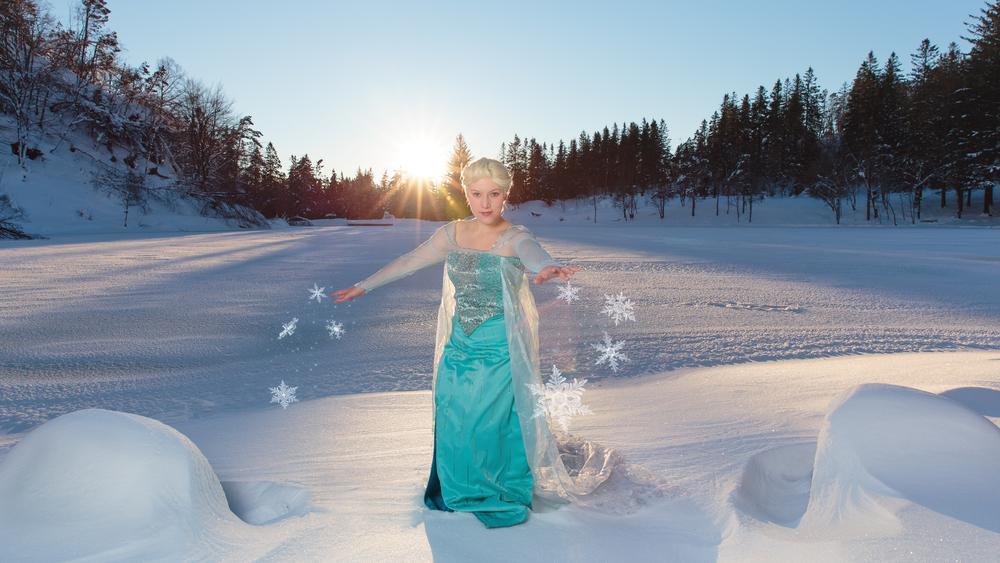 Cosplay shoot: Elsa, Frozen   Modell:   harlotte Rose Kryska