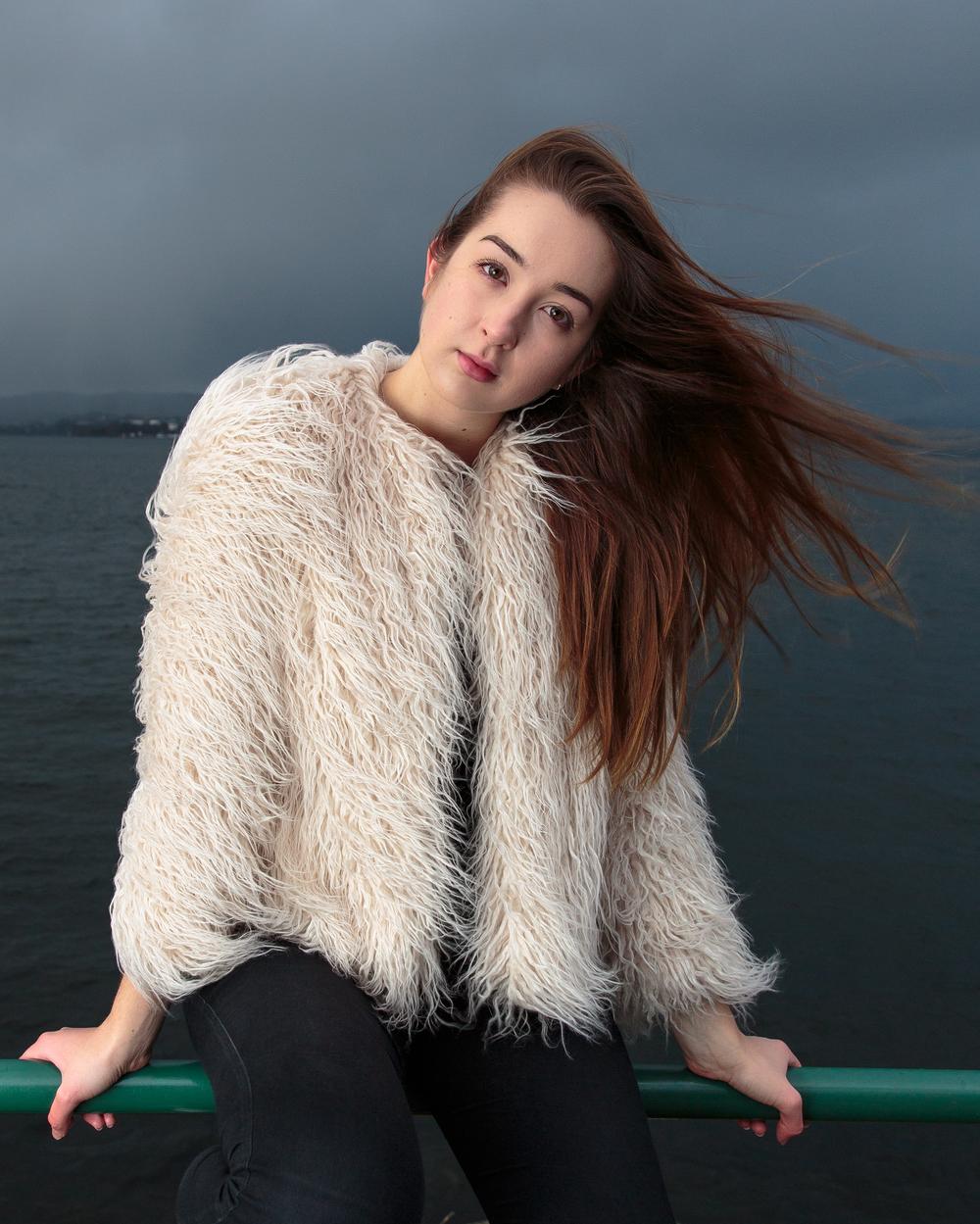 Modell: Bettina Normann