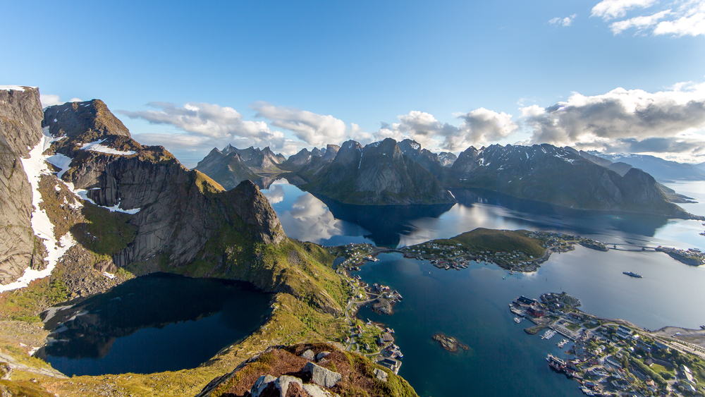 Reinebringen, Lofoten, Norway