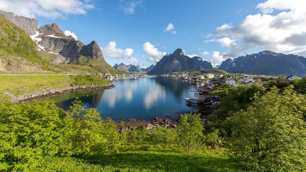Reine halsen, Lofoten, Norway