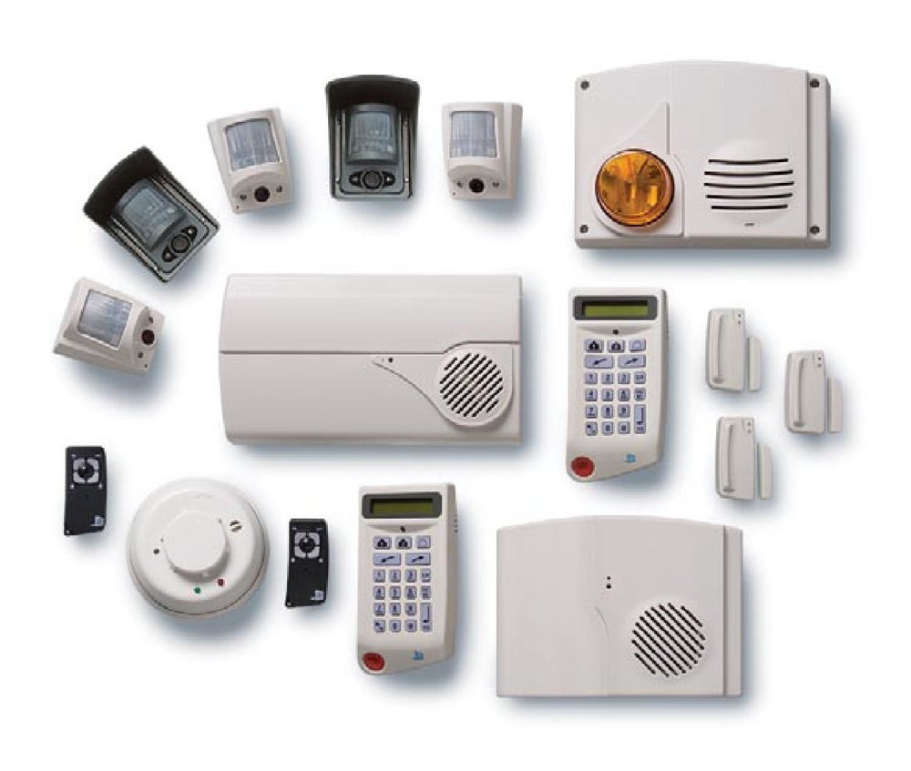 Security systems for private homes