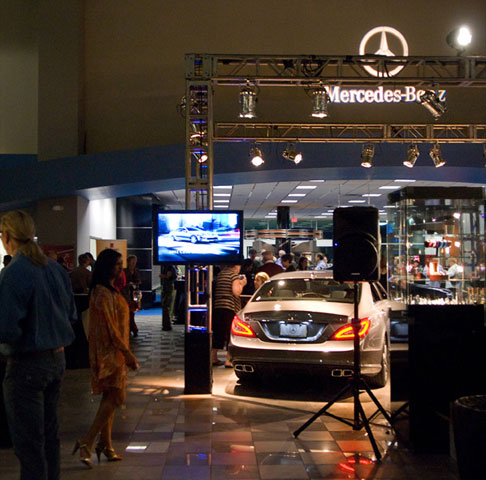 Mercedes event photography