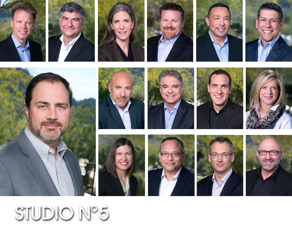 Annual corporate headshots at Camelback Inn, Phoenix, AZ. Imagine Communications.