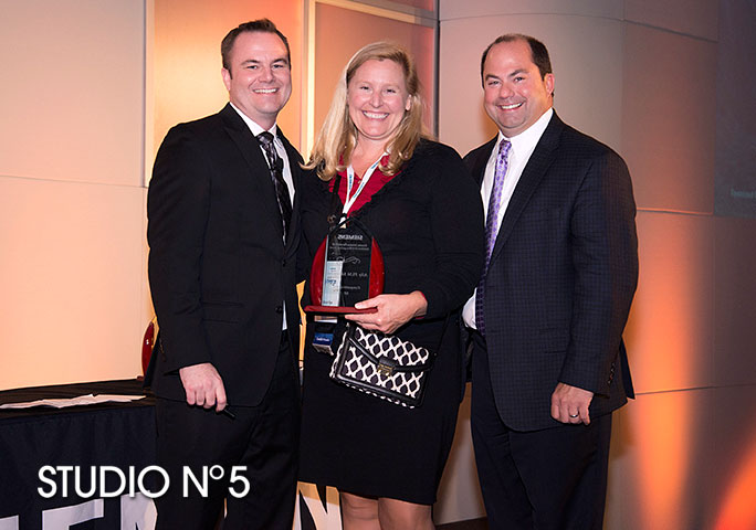 Award presentation photos. Siemens USA Corporation.