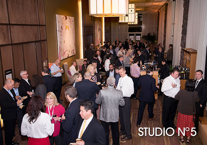Corporate reception. Studio No 5 event and portrait photography.