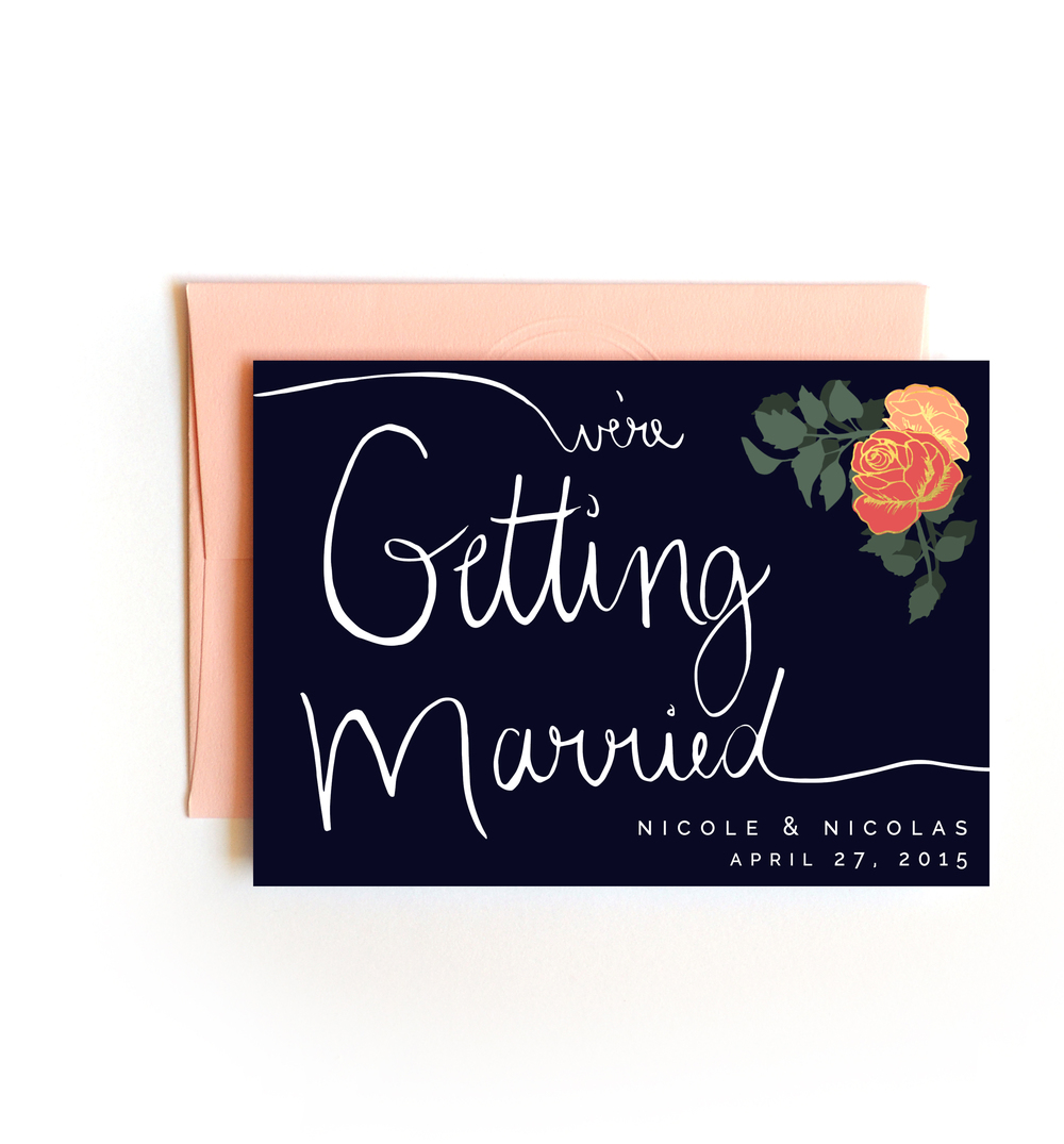 Wedding Invitations + Save the Dates