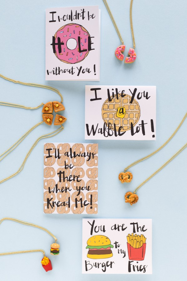 Floating Specks friendship foodie printables for Studio DIY.