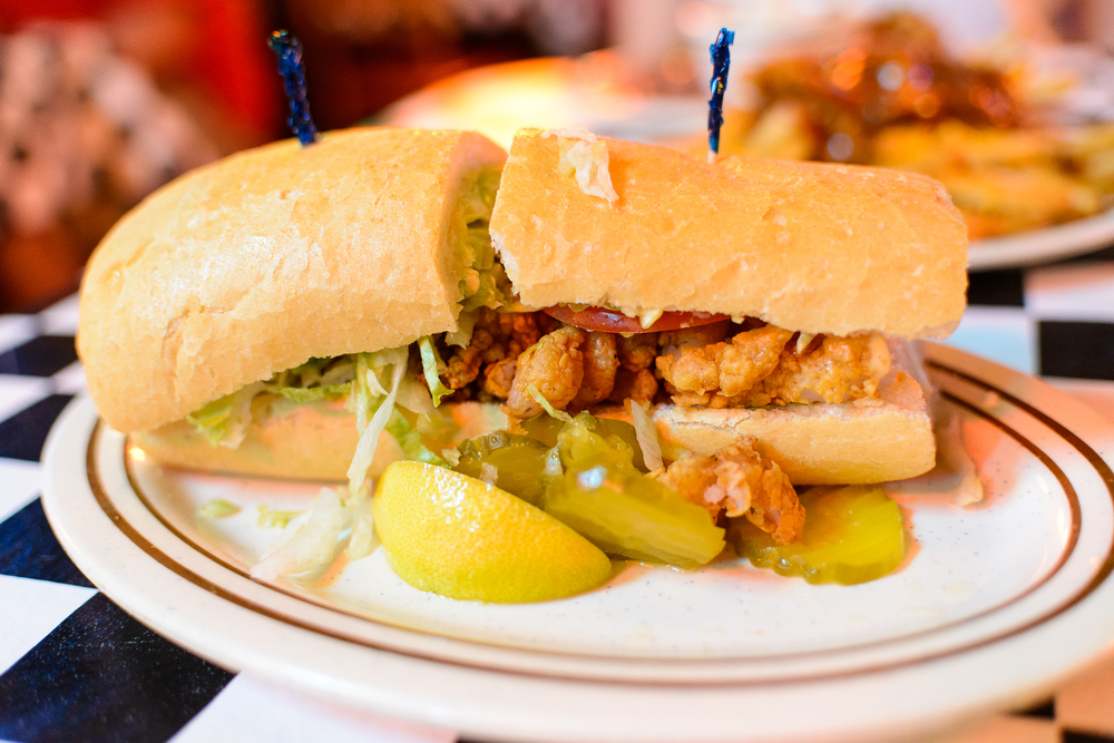 Po Boy at Acme Oyster House