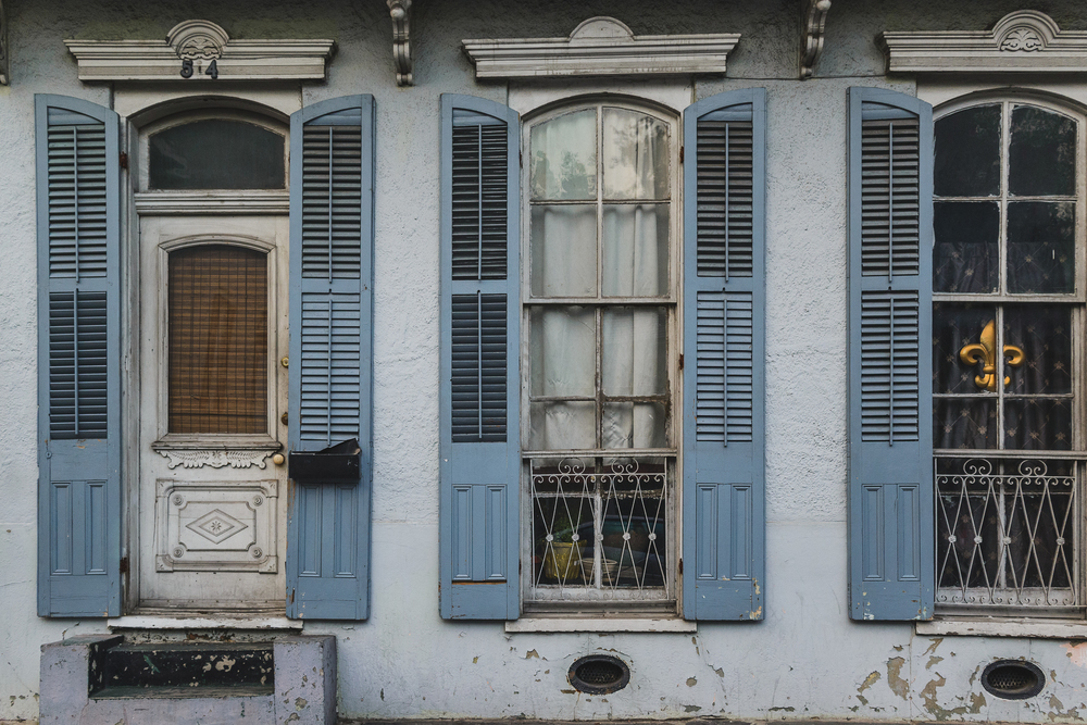 Weathered Home in the French Quarter
