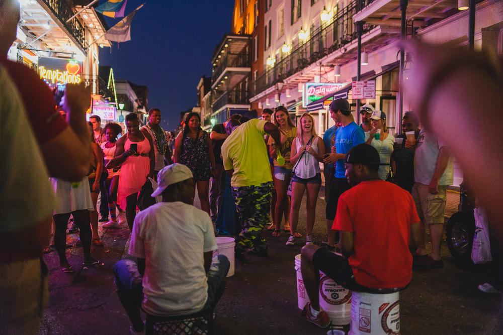 Bourbon Street Dancing