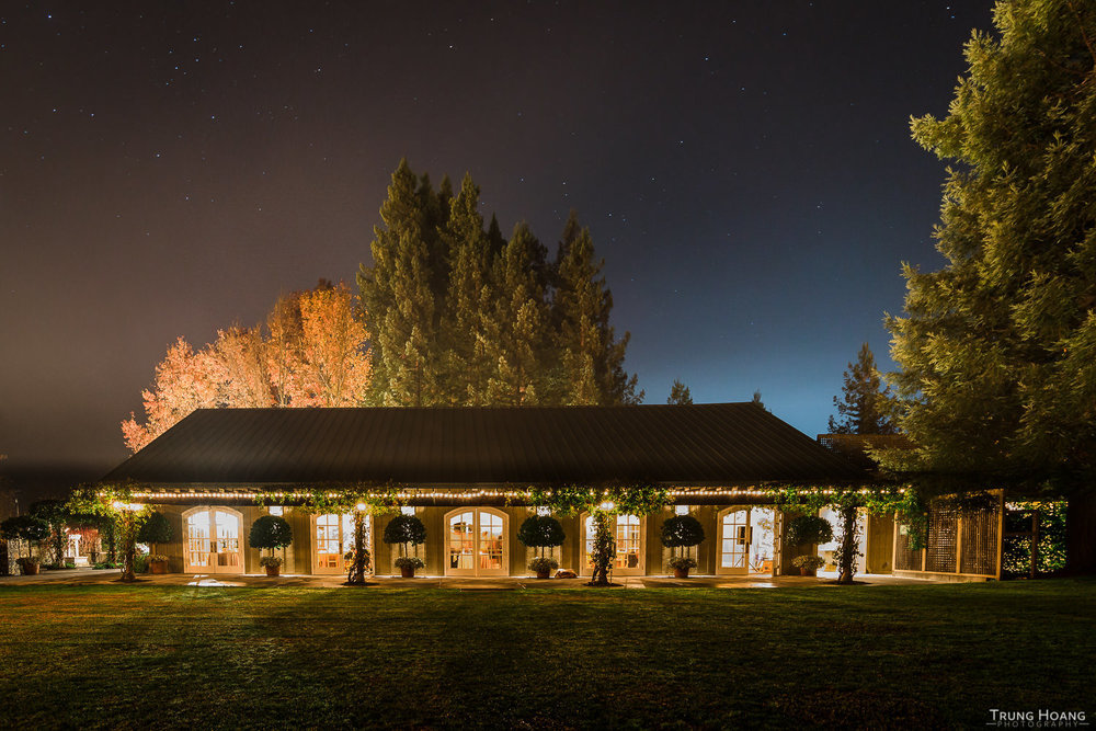 Trentadue Winery Wedding Night