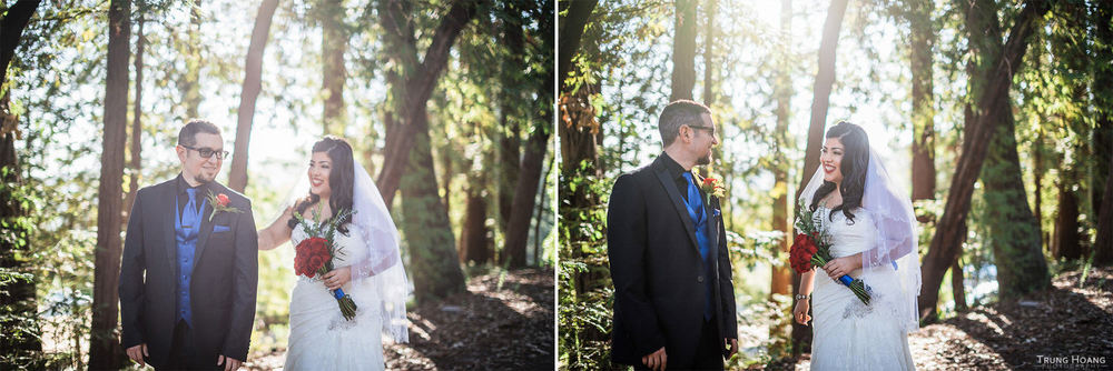 Amphitheatre of the Redwoods Wedding Photography