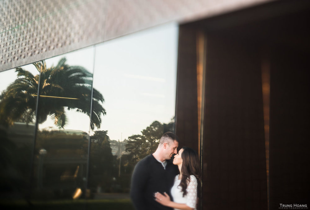 De Young Museum Engagement Photography